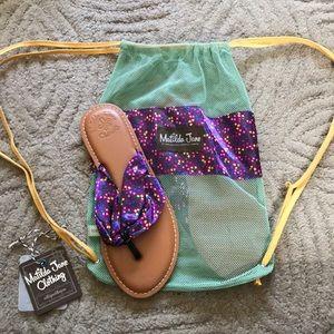 New in Bag! MATILDA JANE 7 Flip Flop Sandals